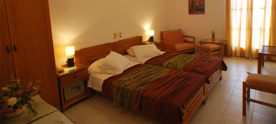 Room of hotel Asteri in Serifos